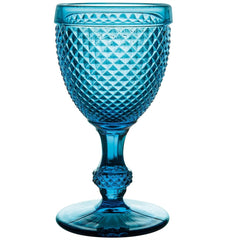 stylish blue goblet