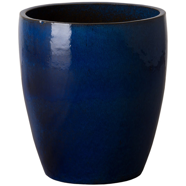 Bullet Ceramic Planter - Blue