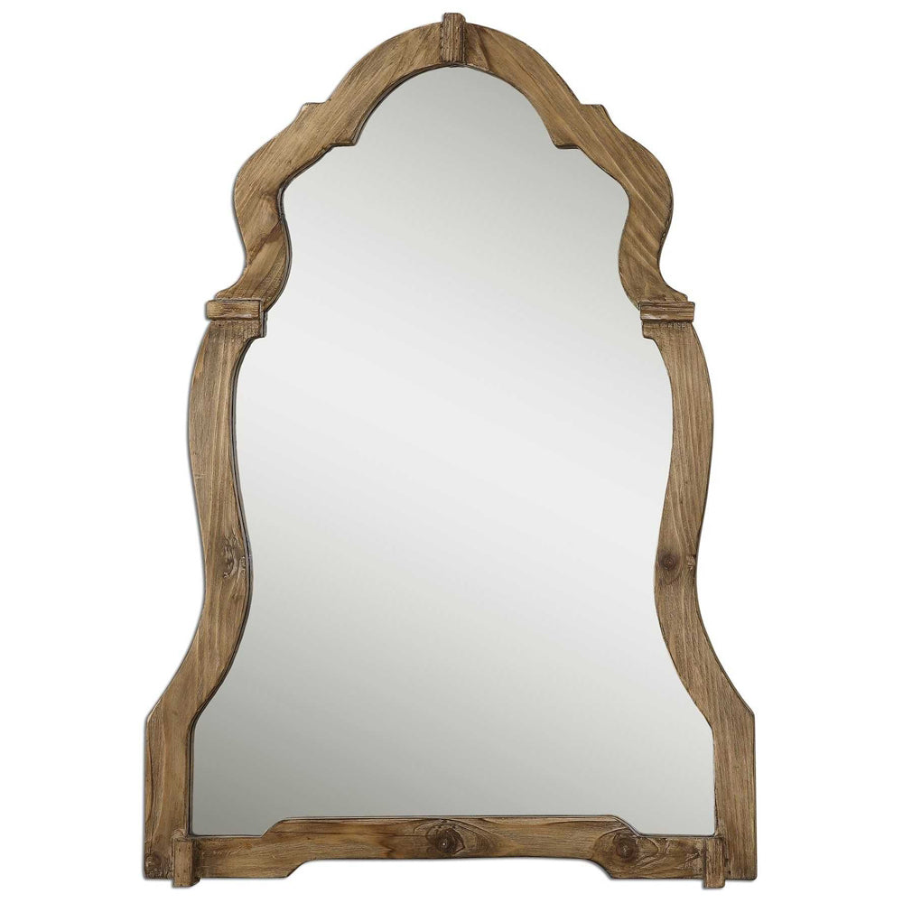 Wood Chippendale Mirror