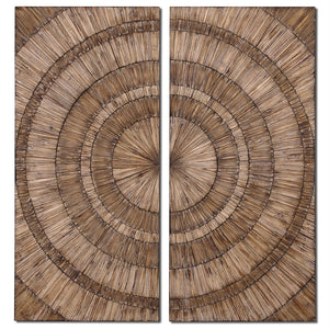 Wood Rings Wall Art