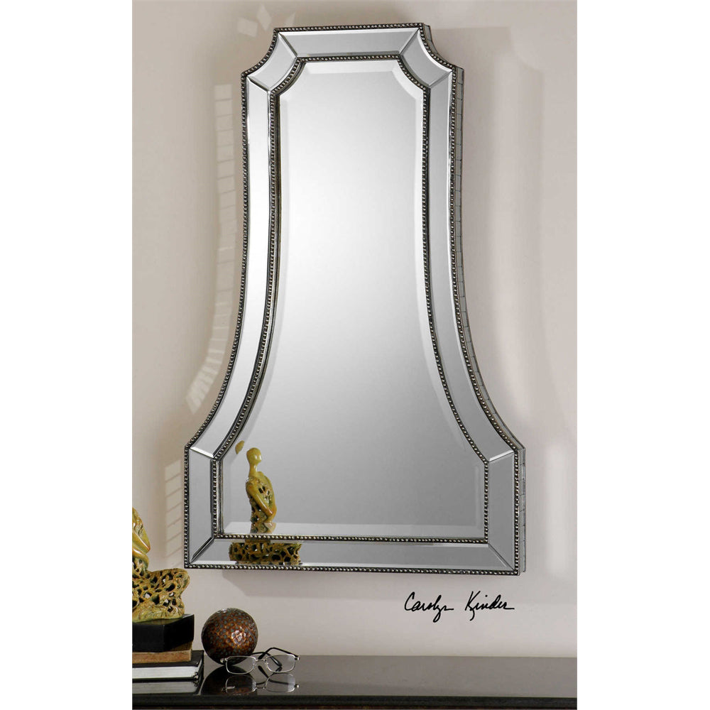 Elegance Beaded Mirror