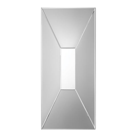 Faceted Beveled Mirror