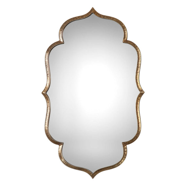Antique Gold Moroccan Mirror
