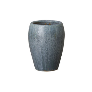 Small Rounded Planter - Blue/Grey