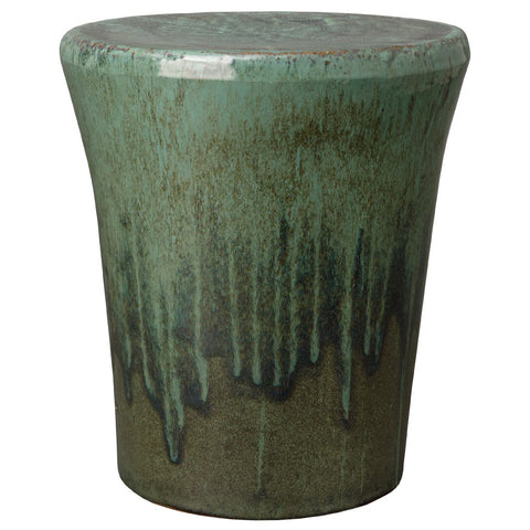 Tapered Garden Stool/Table – Teal Green