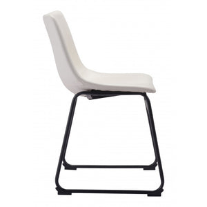 Smart Dining Chair Distressed White - Distressed White - Set of 2