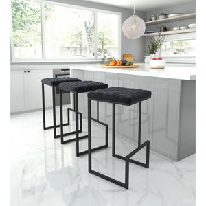 Element Barstool Black - Black