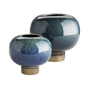 Arteriors Tuttle Vases, Set of 2