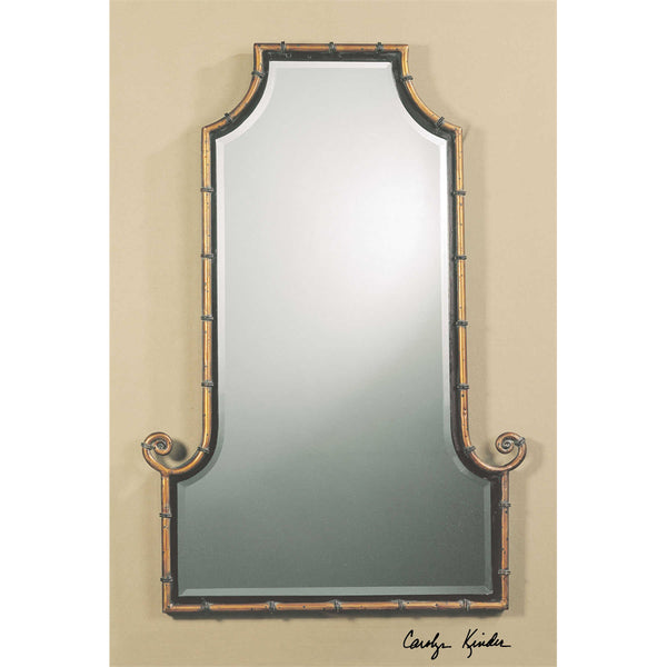 Gold Himalayan Mirror