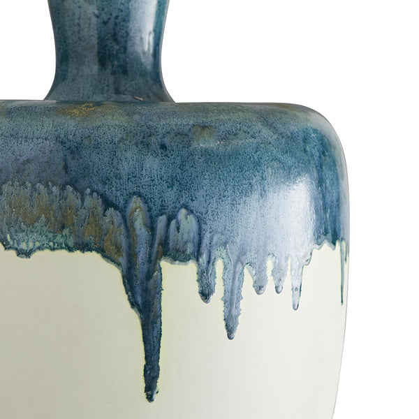 Arteriors Nordic Drip Glaze Porcelain Table Lamp