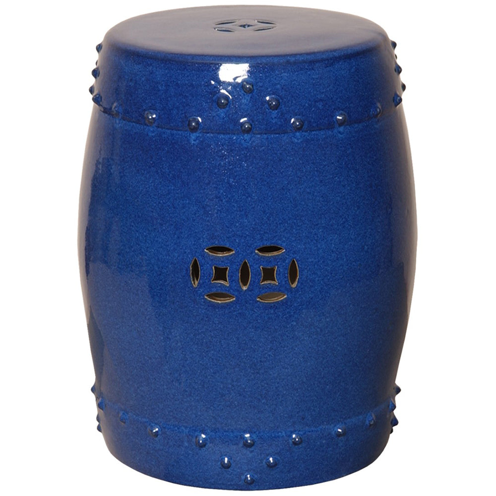 Prosperity Garden Stool - Blue