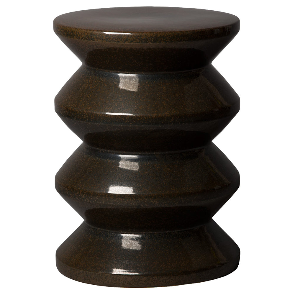 Accordion Garden Stool - Gunmetal