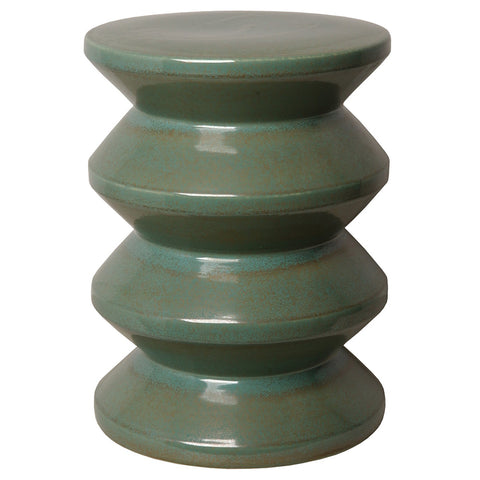 Accordion Garden Stool - Green