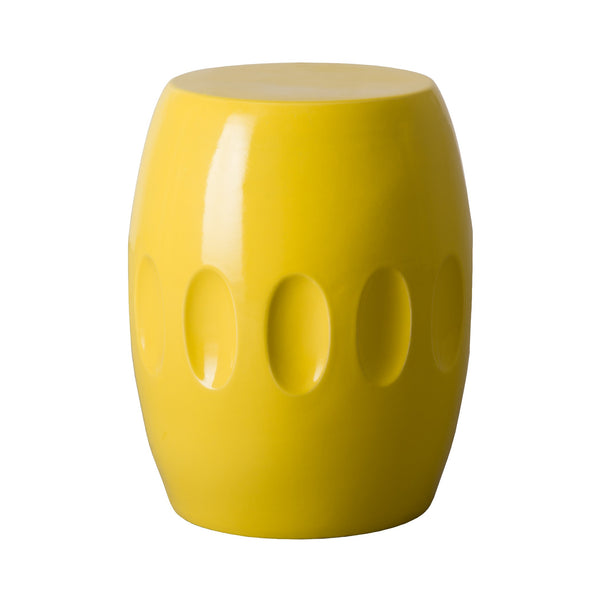 Orion Garden Stool - Yellow