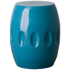 Large Orion Garden Stool - Turquoise