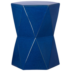 Large Matrix Garden Stool - Blue