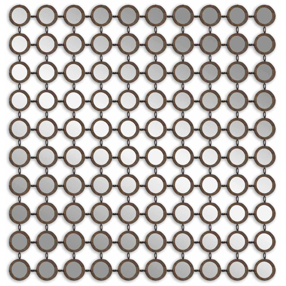 Grid of Circles Mirror