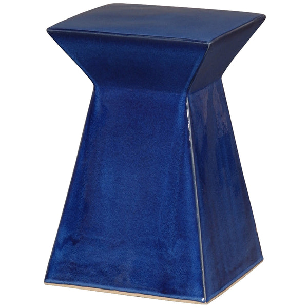 Upright Garden Stool - Blue