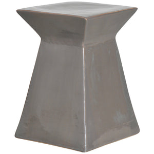 Upright Garden Stool - Grey