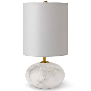 Regina Andrew Alabaster Mini Orb Table Lamp