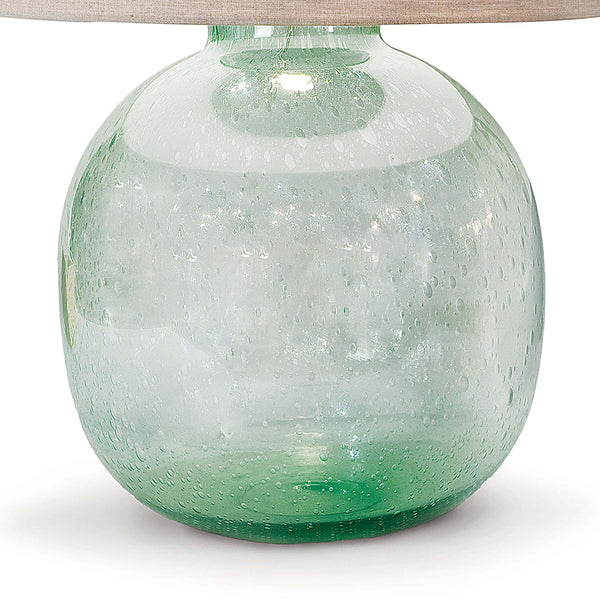 Regina Andrew Recycled Seeded Glass Table Lamp