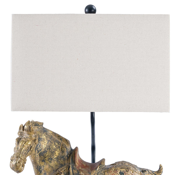 Regina Andrew Dynasty Horse Table Lamps – Set of 2