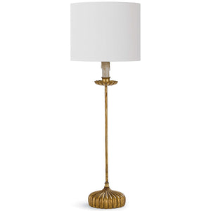 Regina Andrew Clove Stem Buffet Table Lamp with Natural Shade