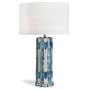 Regina Andrew Ceramic & Crystal Table Lamp with Linen Shade