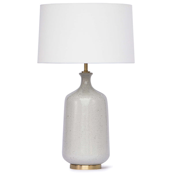 Regina Andrew Glace Ceramic Table Lamp with Linen Shade
