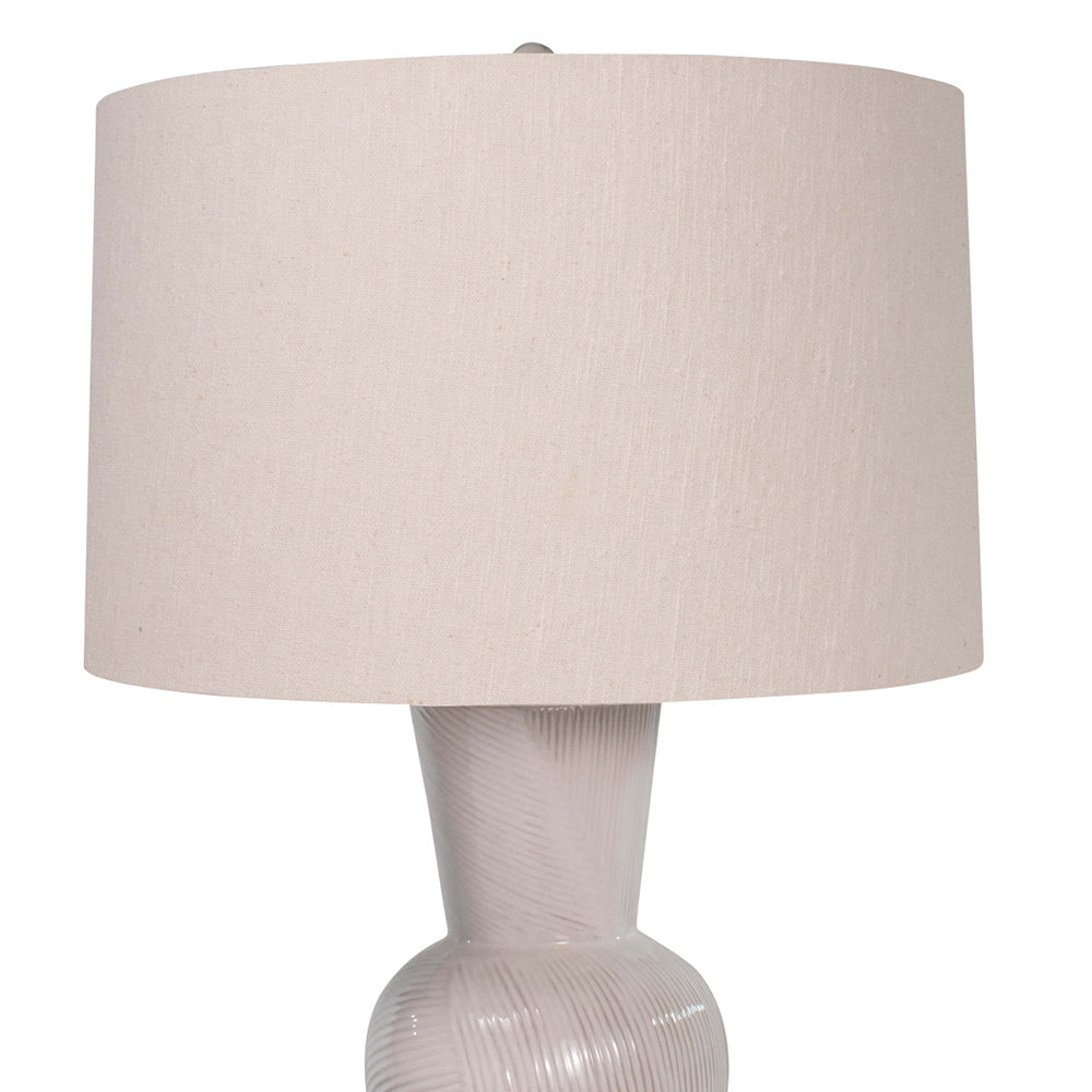 a2a7eb13391b Regina Andrew Hand Shaped Ceramic Table Lamp with Linen Shade