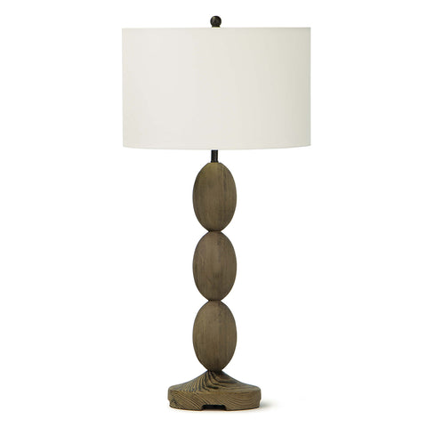 Regina Andrew Birchwood Table Tamp with Linen Shade