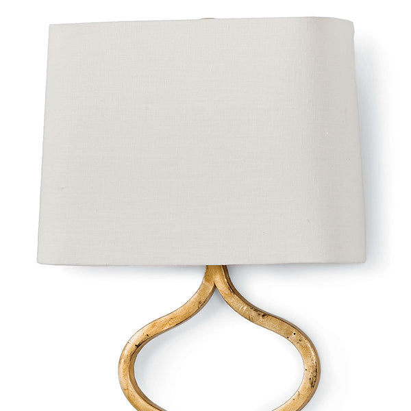 Regina Andrew Twisted Ribbons Wall Sconce – Gold Leaf