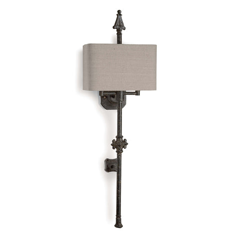 Regina Andrew French Quarter Sconce with Rectangle Shade