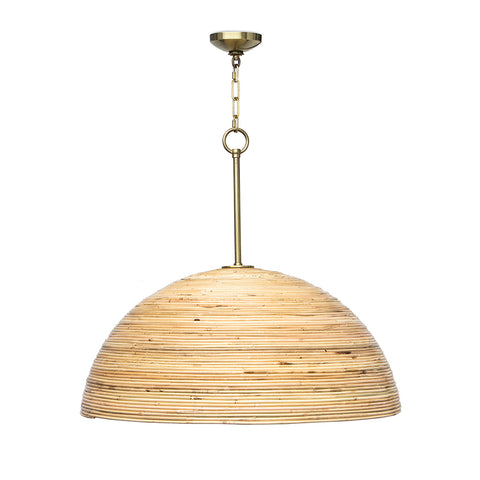 Regina Andrew Half Dome Natural Wood Pendant