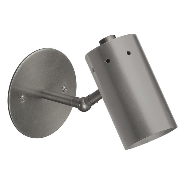 Mid-Century Modern Articulated Arm Wall Sconce – Gun Metal