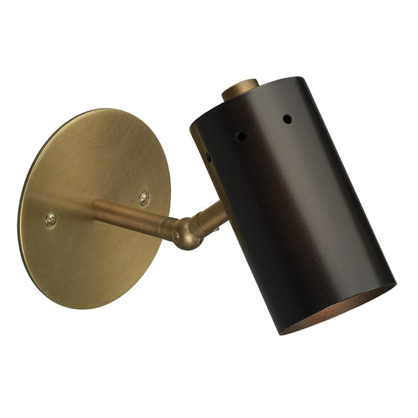 Mid-Century Modern Articulated Arm Wall Sconce – Oil Rubbed Bronze