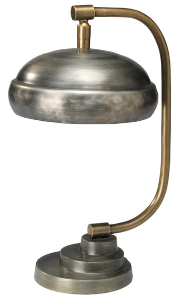 Steam Punk Table Lamp in Gun Metal