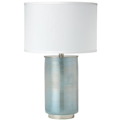 Medium Ombre Table Lamp with Drum Shade – Opal