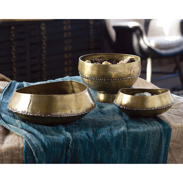 Regina Andrew Decorative Brass Bedouin Bowl – Small
