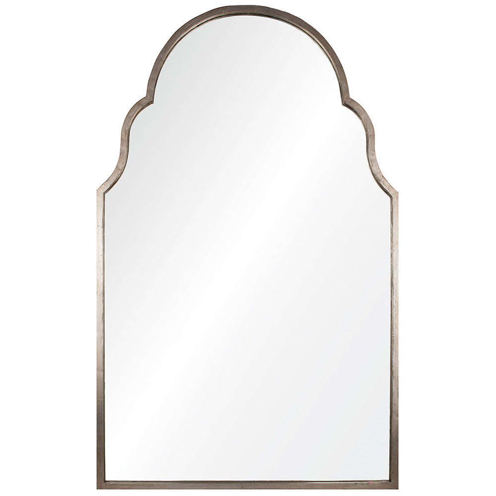 Grace Arched Mirror - Antiqued Silver