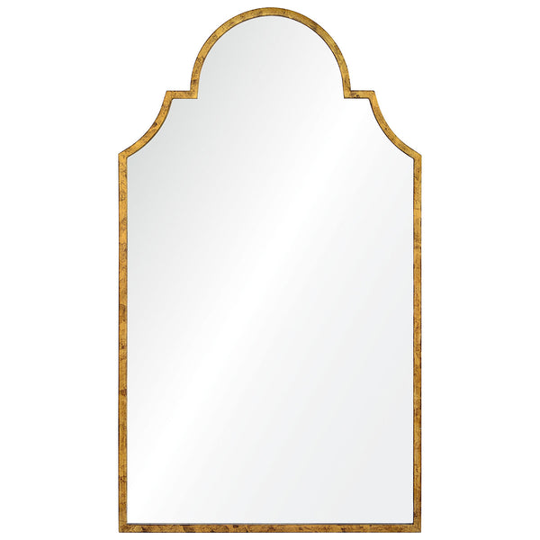 Large Queen Anne Mirror – Gold Leaf