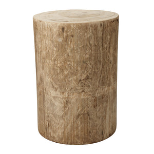 Agave Unfinished Wood Accent Table – Natural
