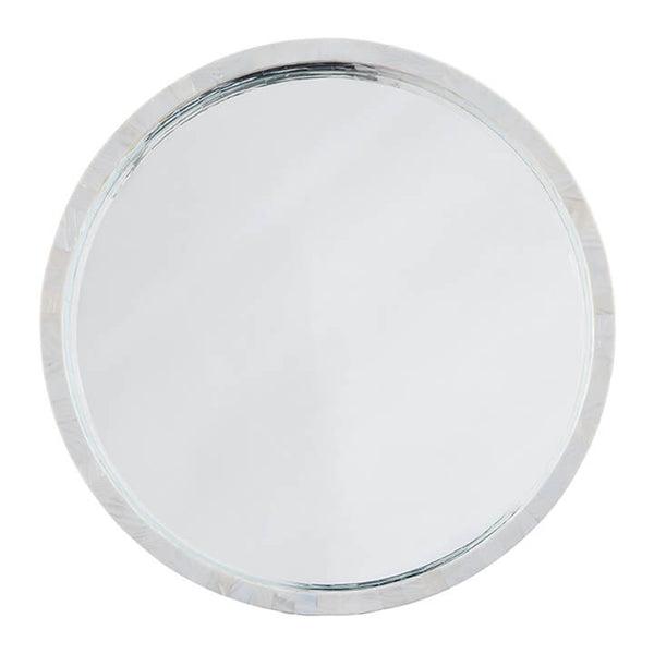 Regina Andrew Mother of Pearl Round Mirror - Large