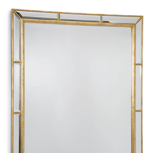 Regina Andrew Beveled Gold Leaf Mirror