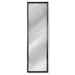 Regina Andrew Narrow Dressing Room Mirror – Blackened Steel