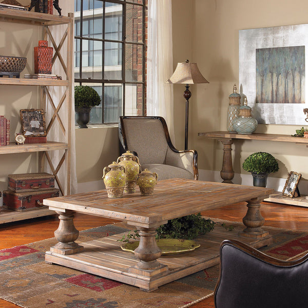 Stratford Reclaimed Wood Coffee Table