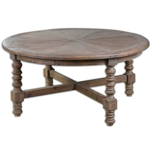 Samuelle Reclaimed Wood Coffee Table