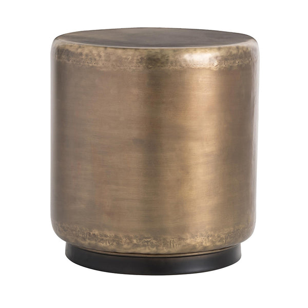 Arteriors Hightower Iron Drum Side Table