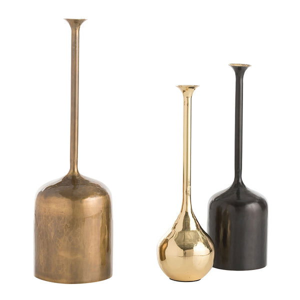 Arteriors Harris Brass Vessels – Set of 3