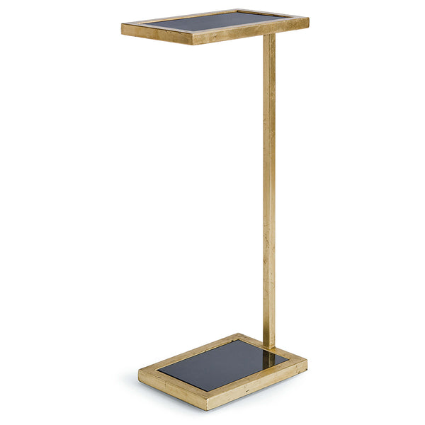 Regina Andrew Cantilevered Accent Table – Gold Leaf